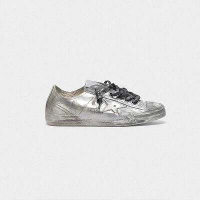 Sneakers V-Star con trattamento laminato