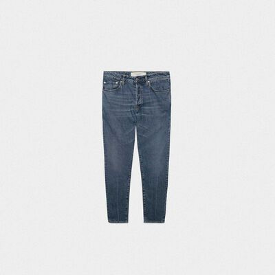 Jolly denim jeans with light crease on front