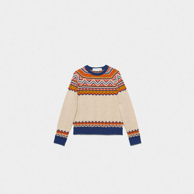 Momo crew neck sweater in merino wool