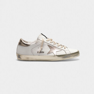 Sneakers Superstar con dettagli e foxing dorato