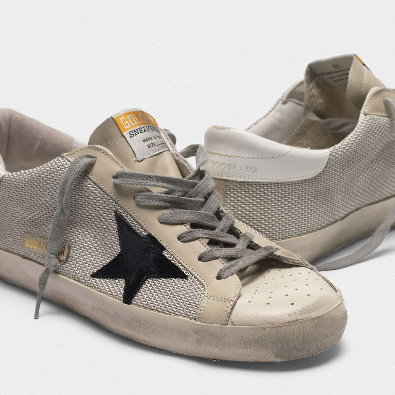 Golden Goose - Sneakers Superstar in tessuto tecnico in  image number null