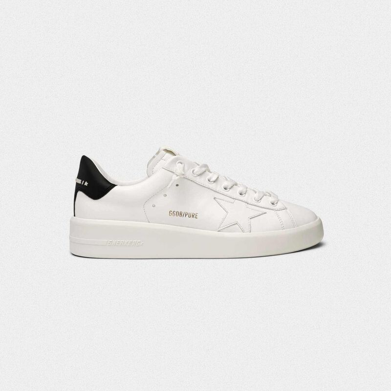 Golden Goose - PURESTAR sneakers with black heel tab in  image number null