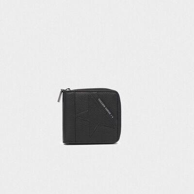 Medium black Star Wallet