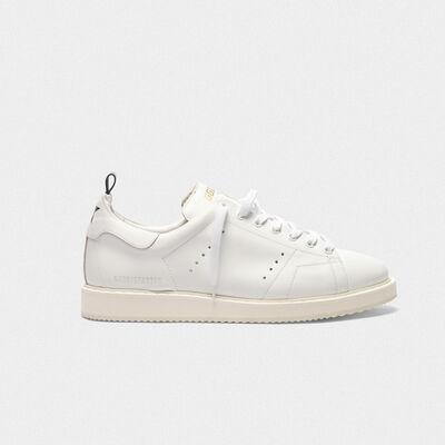 Sneakers Starter in pelle con stella stampata sul talloncino