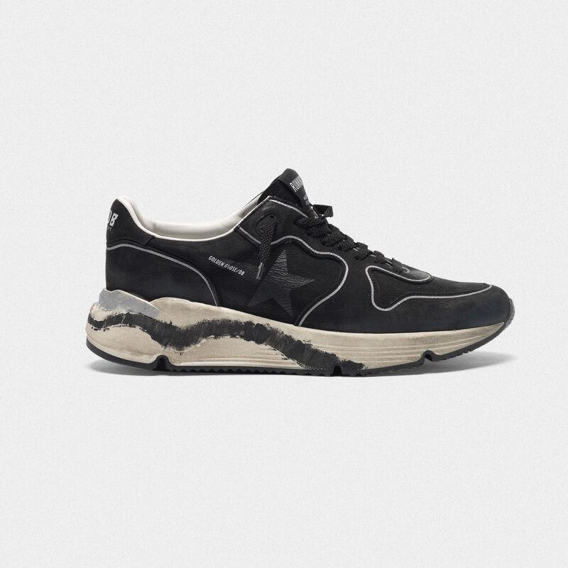 Golden Goose - Sneakers Running Sole in nabuk in  image number null