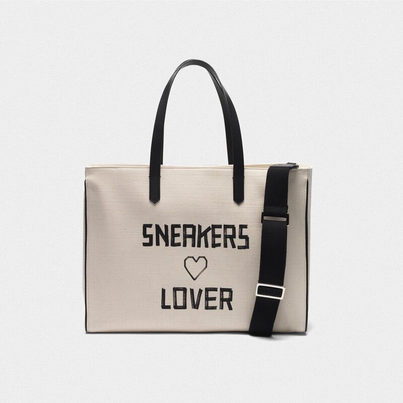 """Golden Goose - """"Sneakers Lovers"""" East-West California Bag in  image number null"""
