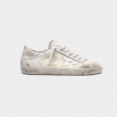 Superstar sneakers with white patchwork shades