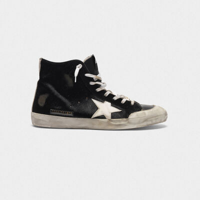 Francy sneakers in pony skin with contrast star