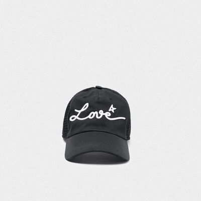Cappello da baseball Sam con ricamo Love