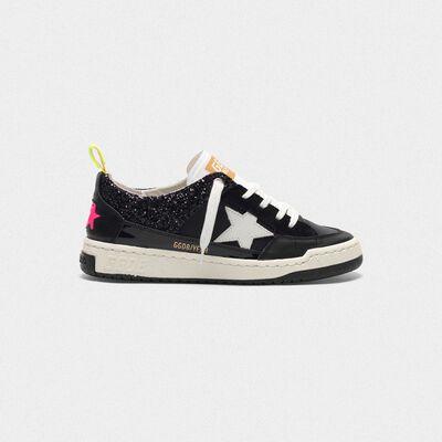 Sneakers Yeah! nere con stella bianca