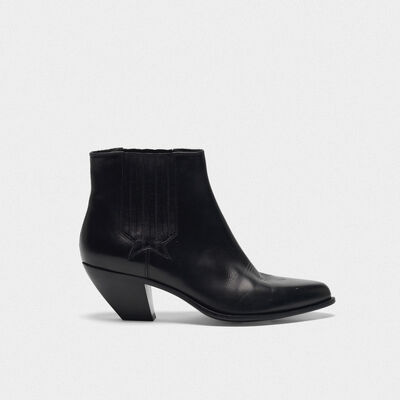 Black Sunset ankle boots