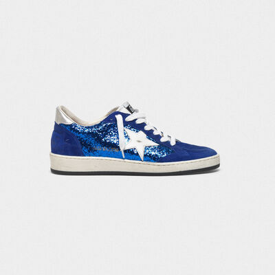 Ball Star sneakers with glitter coating