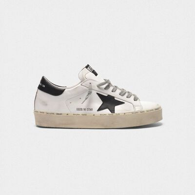 Hi Star sneakers in leather with black star