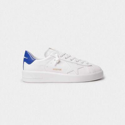 PURESTAR sneakers with blue heel tab