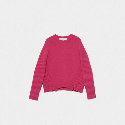 Monoirobara sweater in extrafine merino wool