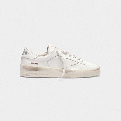 Sneakers Stardan in pelle total white