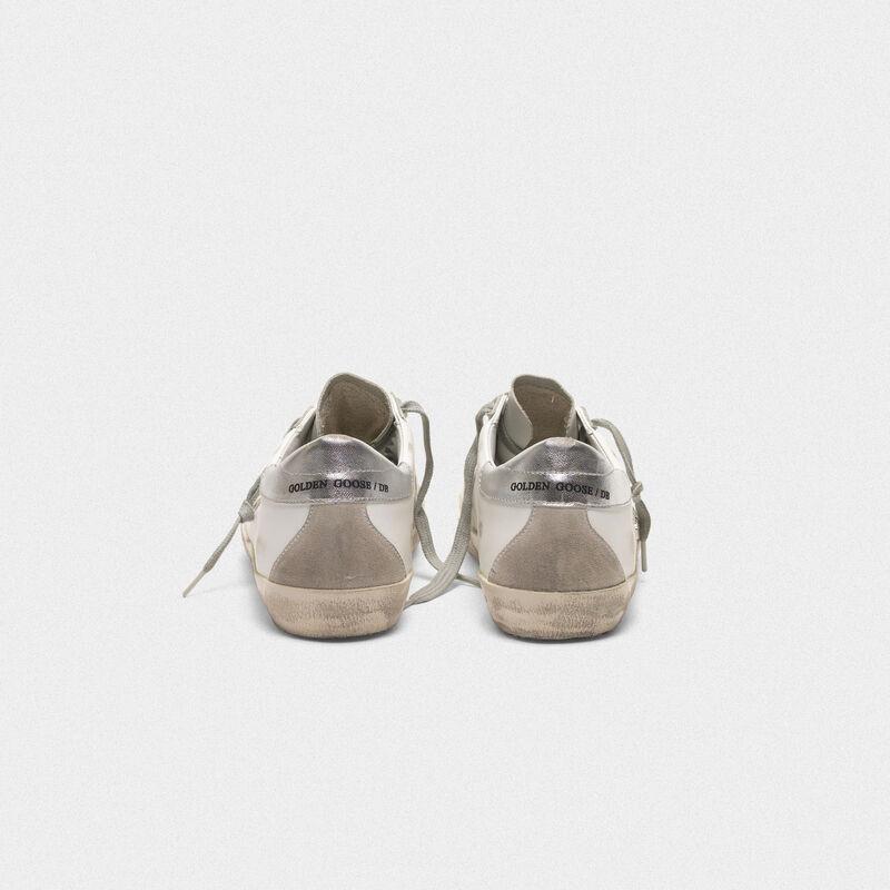 Golden Goose - Zapatillas deportivas Superstar de piel con estrella y talón de ante in  image number null