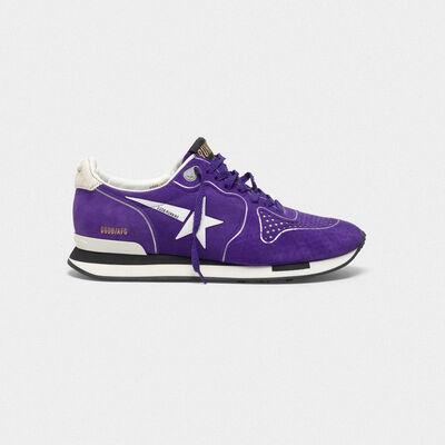 Sneakers Running con puntale traforato