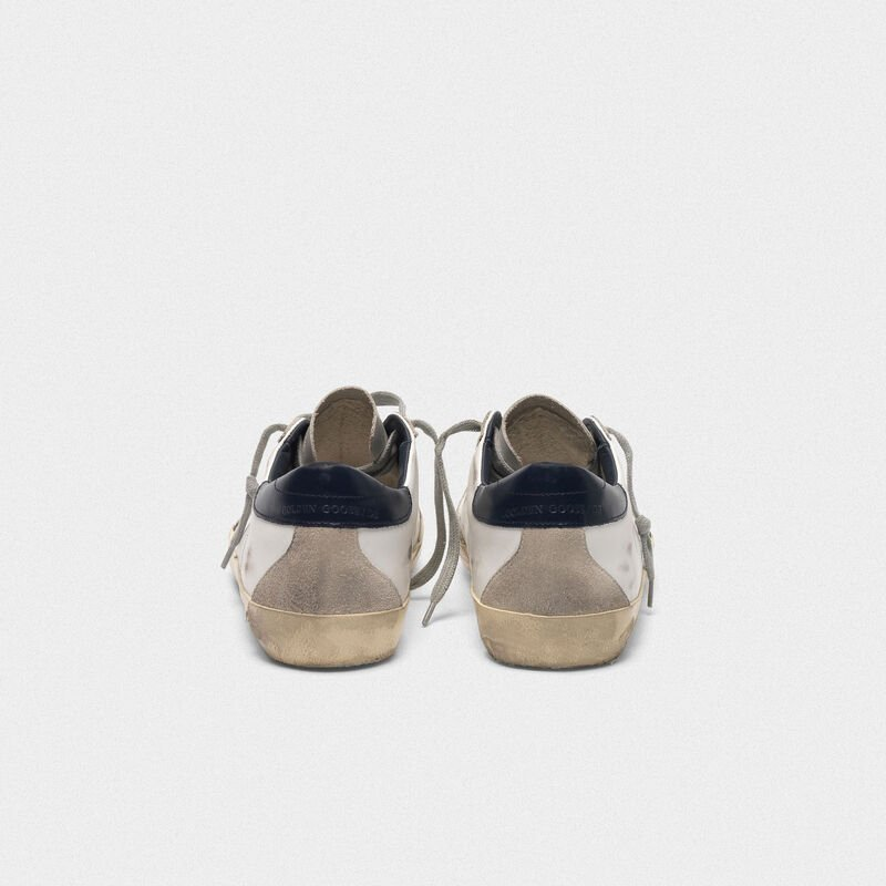 Golden Goose - Superstar sneakers in leather with suede star in  image number null