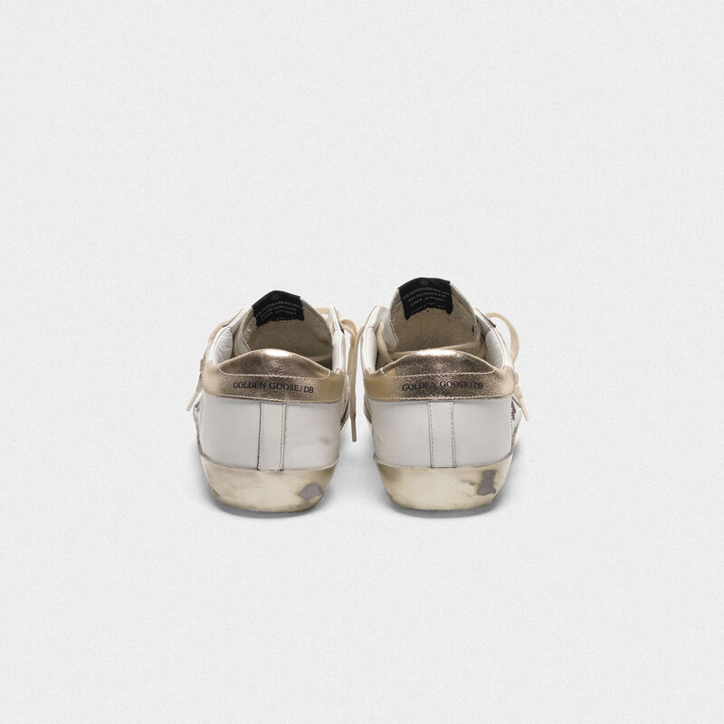 Golden Goose - Superstar sneakers with details and gold foxing in  image number null