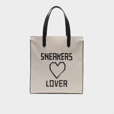 "Borsa California North-South ""Sneakers Lovers"""