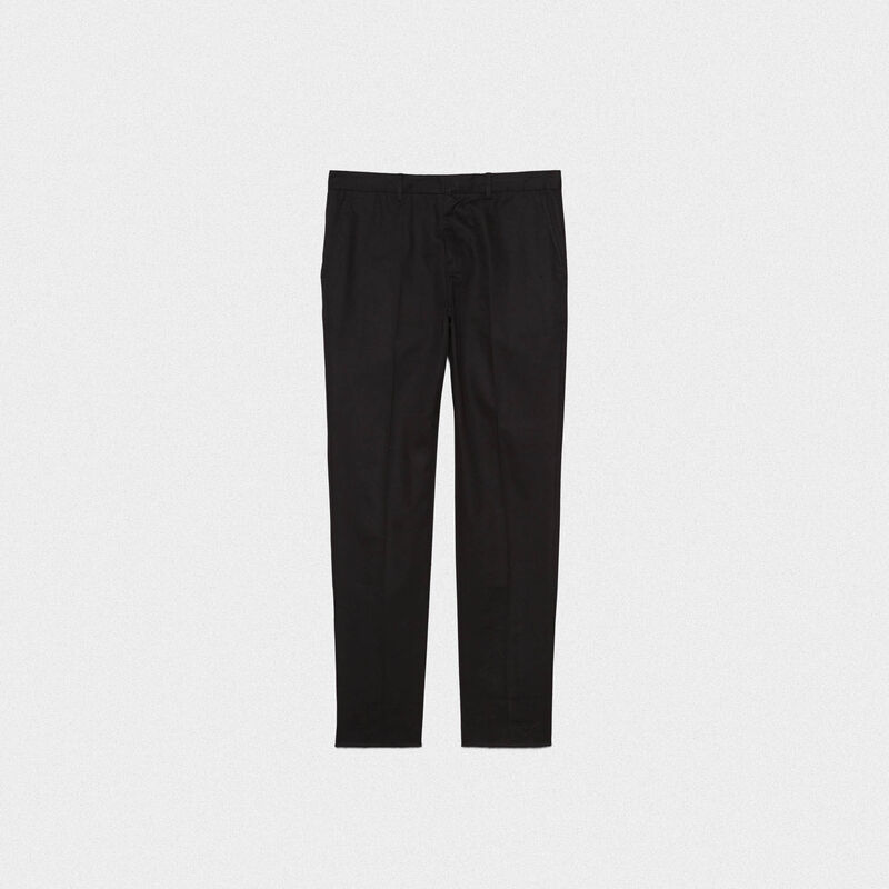 Golden Goose - Pantaloni chino Golden in cotone  in  image number null