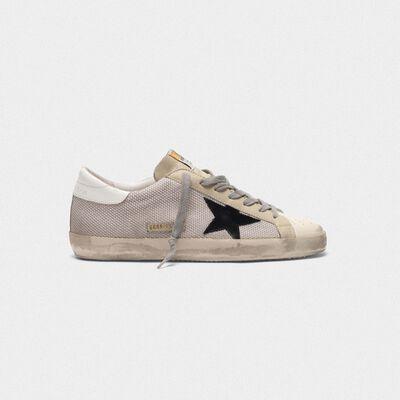 Superstar sneakers in hi-tech fabric