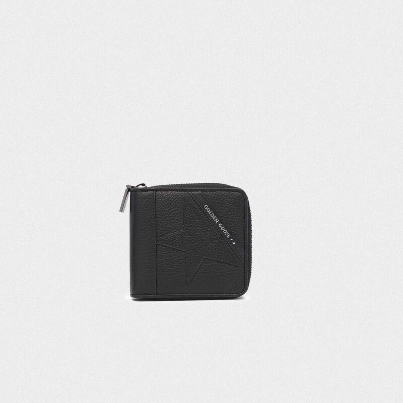 Golden Goose - Portafoglio Star Wallet medium nero in  image number null
