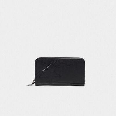 Large black Star Wallet