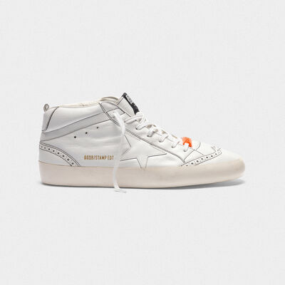 Mid Star sneakers with all-over printed logo