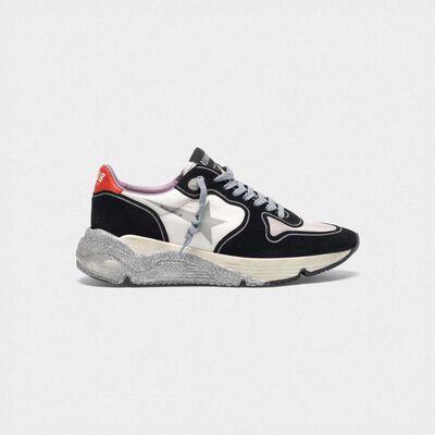 Sneakers Running Sole con suola glitter