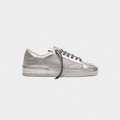 Sneakers Stardan in pelle laminata