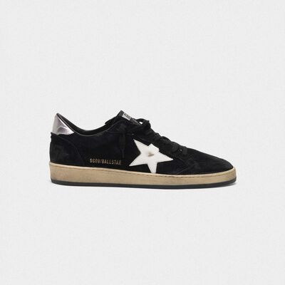 Ball Star sneakers in suede with contrasting star and metal heel tab