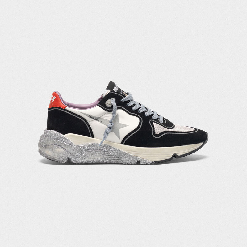 Golden Goose - Sneakers Running Sole con suola glitter in  image number null