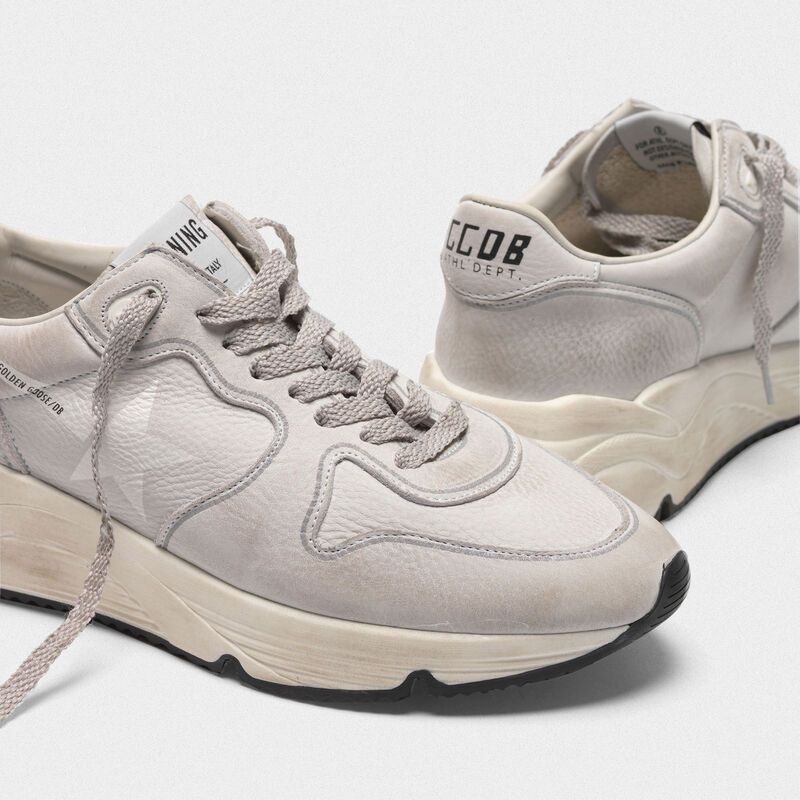 Golden Goose - Sneakers Running Sole in nabuk in  image number null