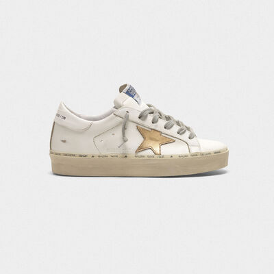 Hi Star sneakers with gold laminated star
