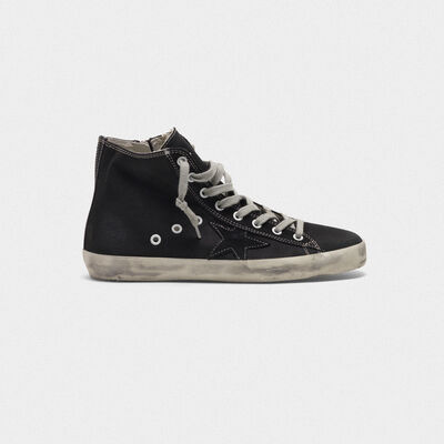 Francy sneakers with GGDB star with contrast top-stitching