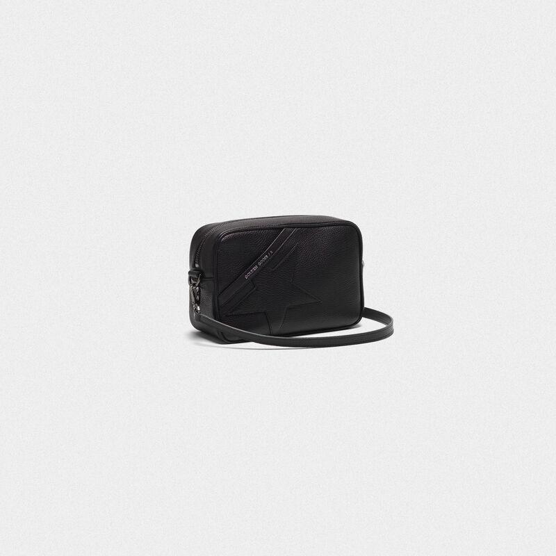 Golden Goose - Star Bag with shoulder strap made of pebbled leather  in  image number null