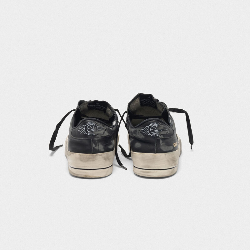 Golden Goose - Sneakers Stardan LTD nere in pelle in  image number null