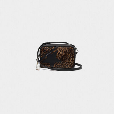 Borsa Star Bag in cavallino stampa leopardata