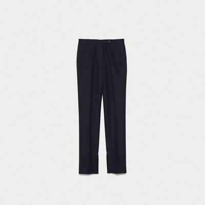 Venice trousers in a technical fabric with adjustable length